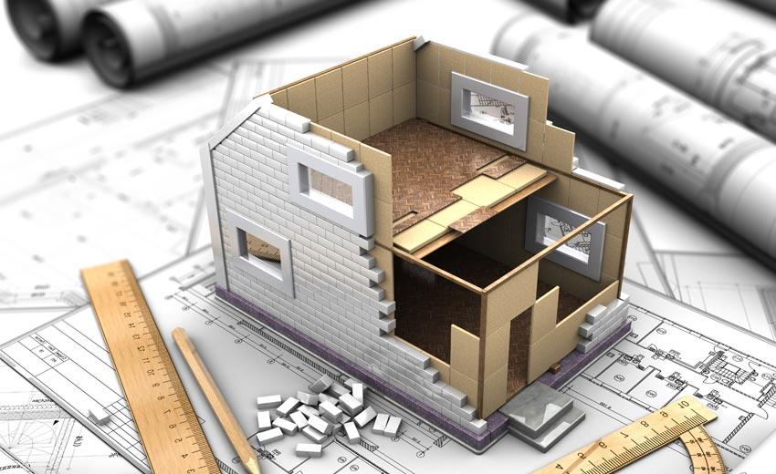 Из каких частей состоит технический план на дом