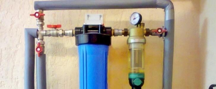 Магистральные и проточные фильтры в системах водоснабжения