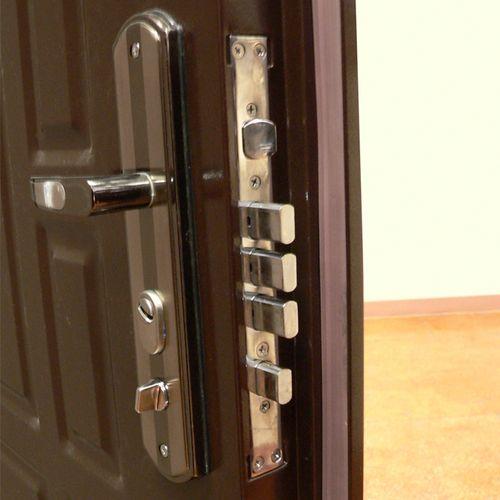 Алгоритм самостоятельной установки замка на металлическую дверь