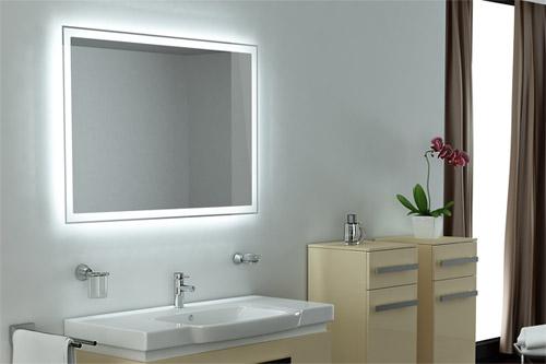 Shop Trading – стильное зеркало со светодиодной подсветкой